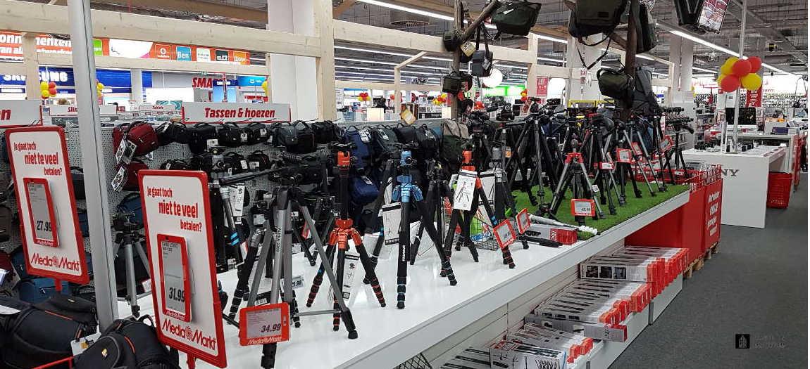Camera stuff at the Mediamarkt