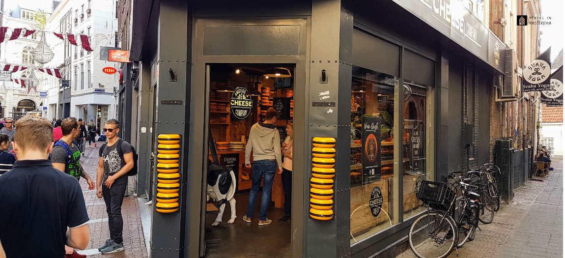 Cheese shop in the Kalverstraat