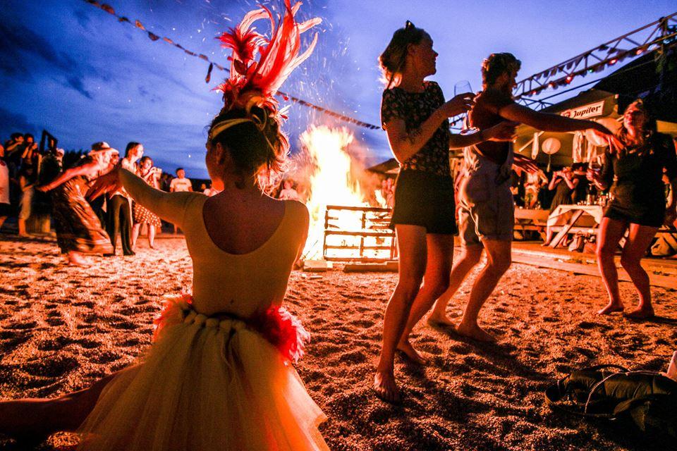 Midsummer night event at Pllek