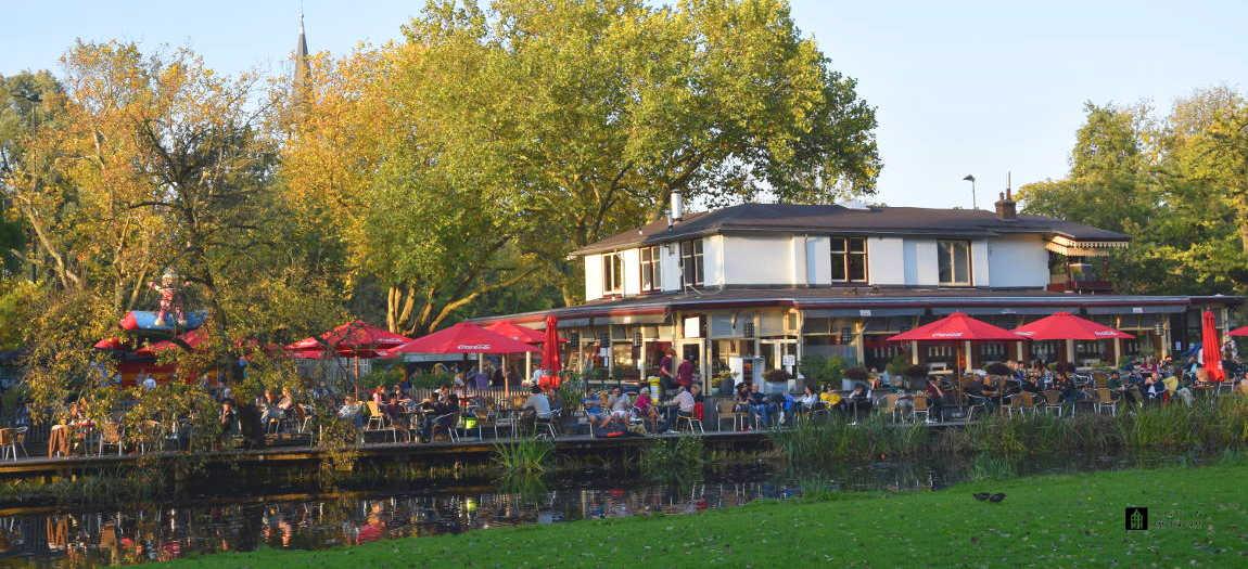 Restaurant Groot Melkhuis at Vondelpark