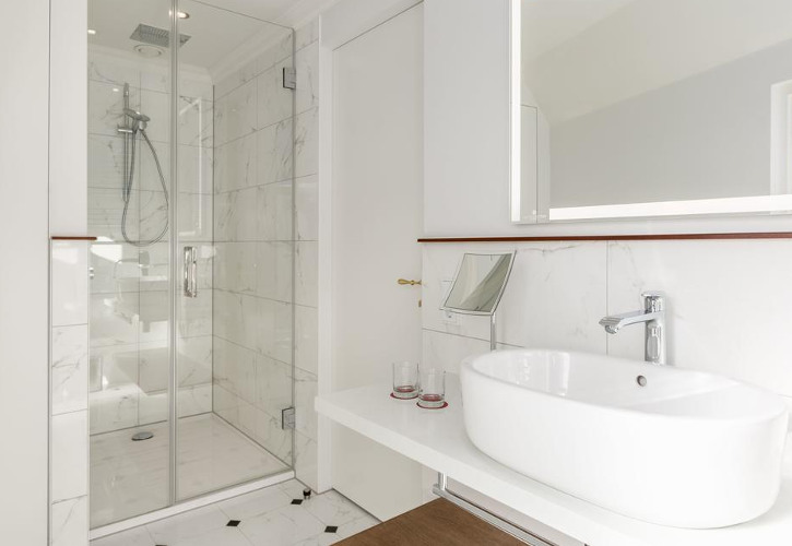 Bathroom of Hotel Doelen Amsterdam