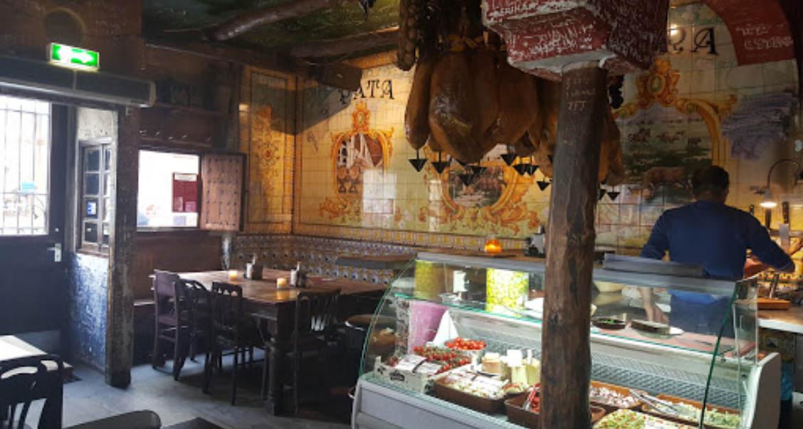 Tapas bar and restaurant Pata Negra Amsterdam