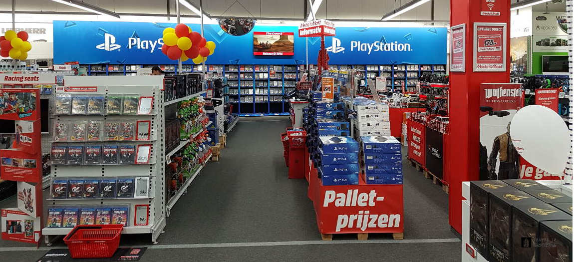 Games for Playstation at the Mediamarkt