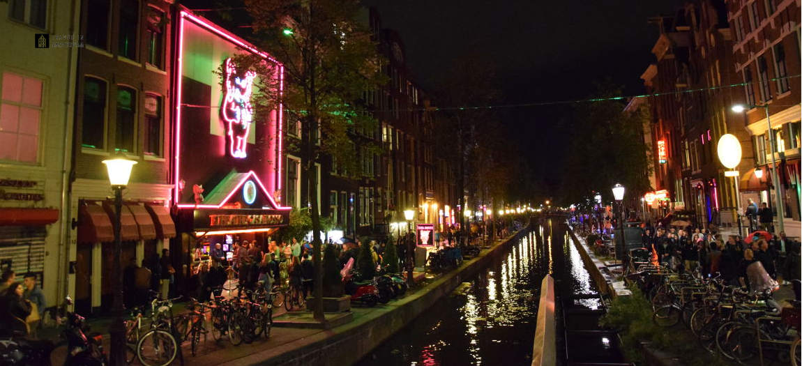 Casa Roso in the Red Light district