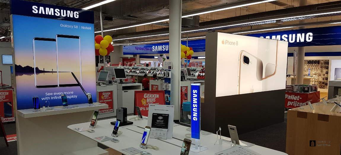 Samsung store in store a the Mediamarkt