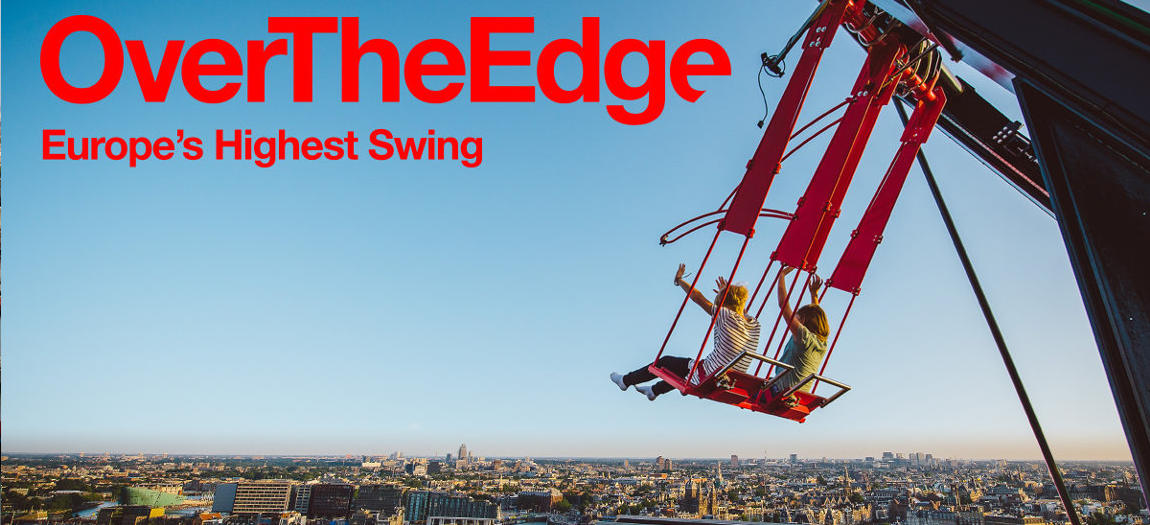 The swing at Amsterdam Lookout