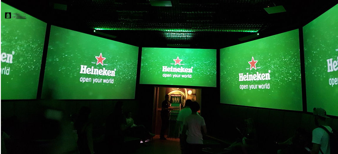 The movie at Heineken Experience