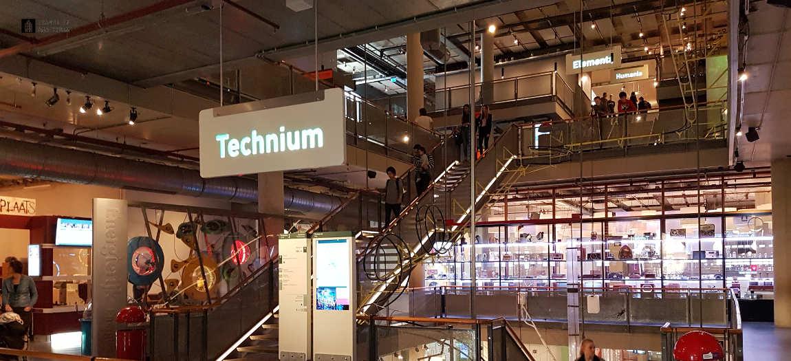 Technium floor at NEMO Science Museum