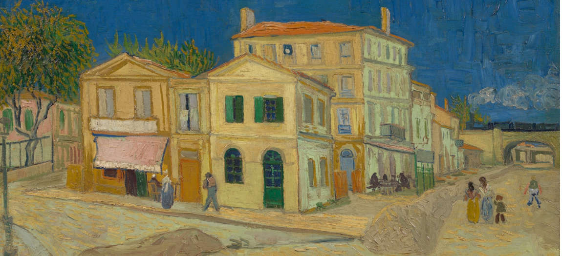 Van Gogh's painting The Yellow House
