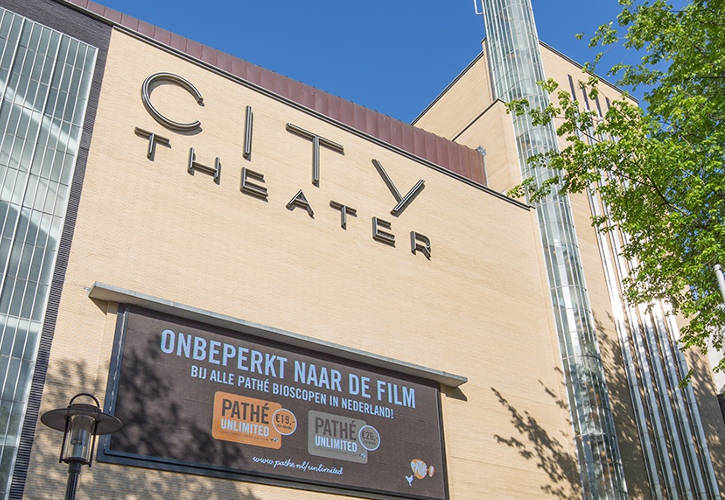 The Pathe City Cinema in Amsterdam