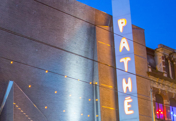 The Pathe Munt Cinema in Amsterdam